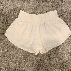Billabong Ivory Linen Shorts